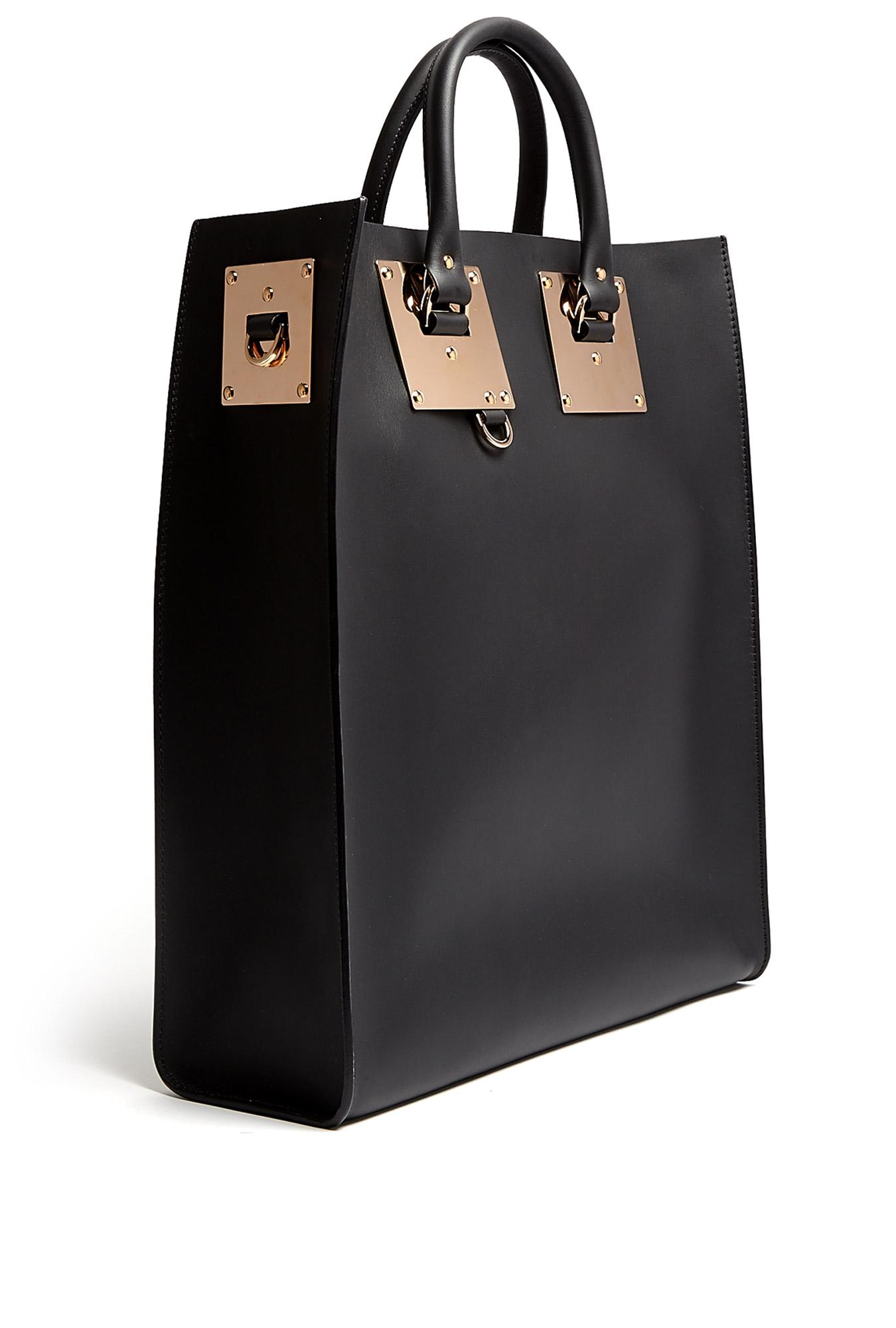 Sophie Hulme | Large Leather Tote Bag by Sophie Hulme