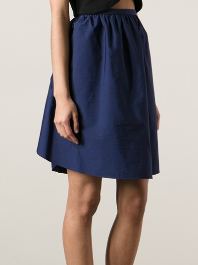 Carven Voluminous A-line Skirt - O' - Farfetch.com