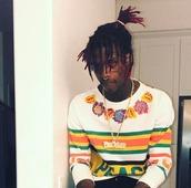 shirt,stripes,famous dex,man clothes,rapper,mens,peace,long sleeves,mens long sleeve shirt,floral,flowers,colorful,dexter