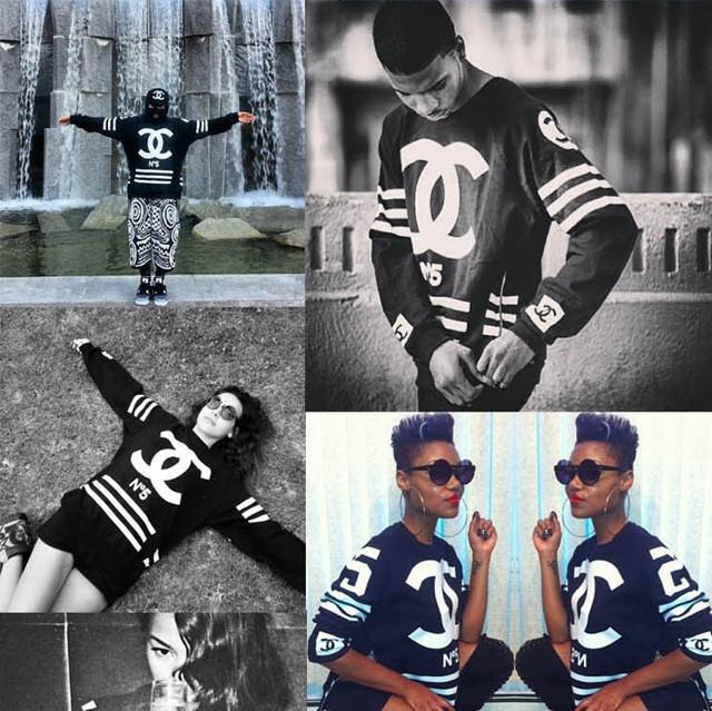 Red/black/white 2014 Woman Men Homme Femme oversize Fack c hoodies Hop Sweatshirts No 5 side zipper pullovers Plus size-in Hoodies & Sweatshirts from Apparel & Accessories on Aliexpress.com