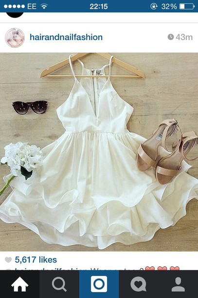 dress white dress dress party dress summer dress love hair accessory hat shoes birthday dress