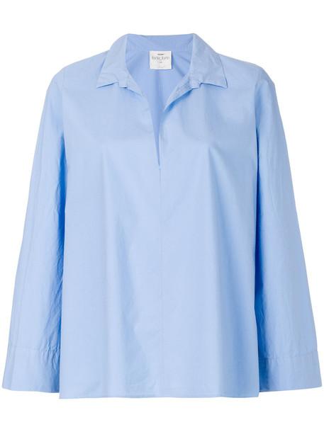 Forte Forte shirt long women cotton blue top