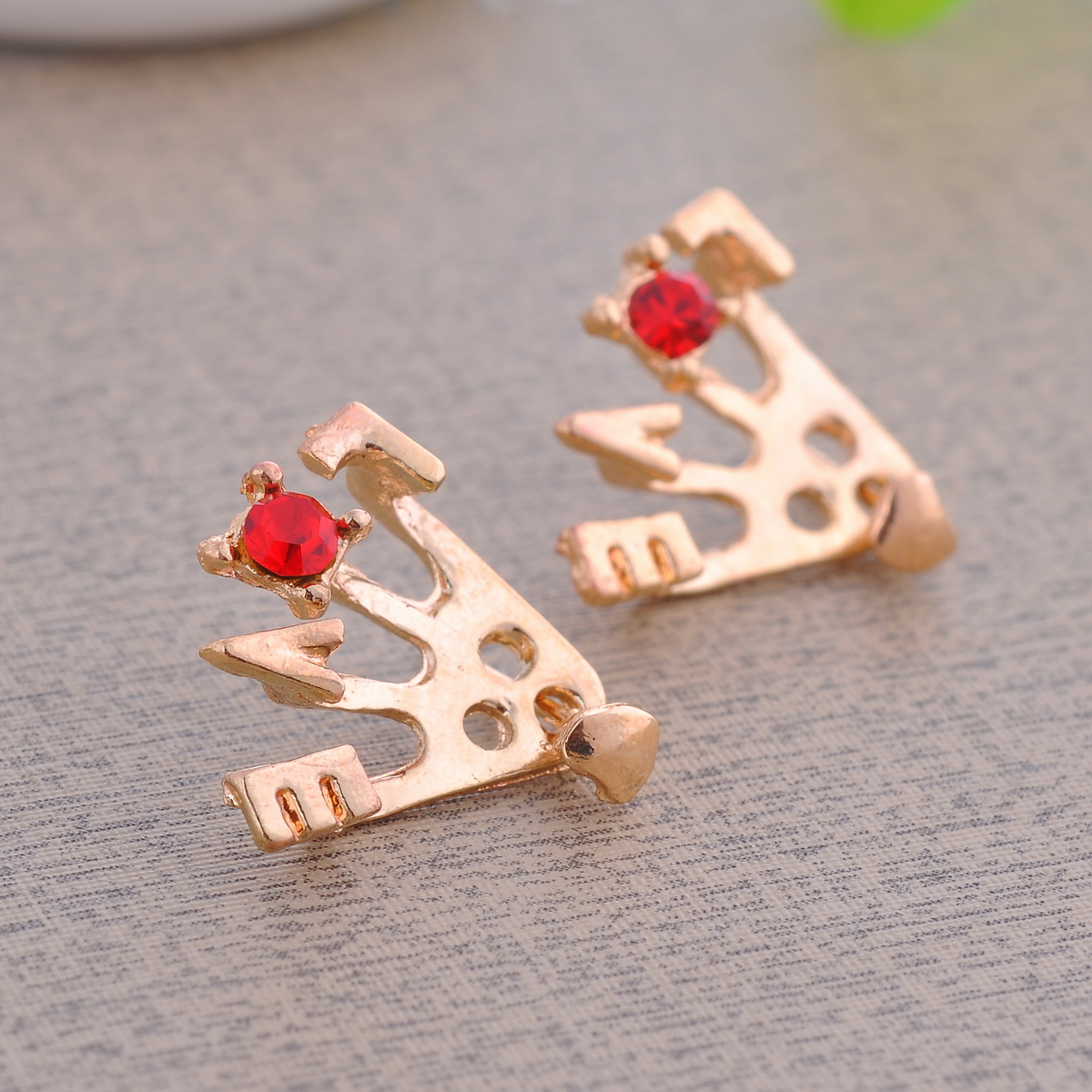 CHIC LOVE Rhinestone Crystal Earring Studs Women Charms 3colors Choosen | eBay