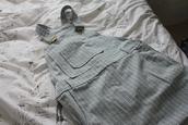 dungarees,mini,stripes,flickr,white dress,blue dress,dress