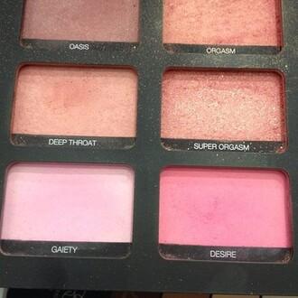 jewels make-up nars cosmetics palette makeup palette cheek blush