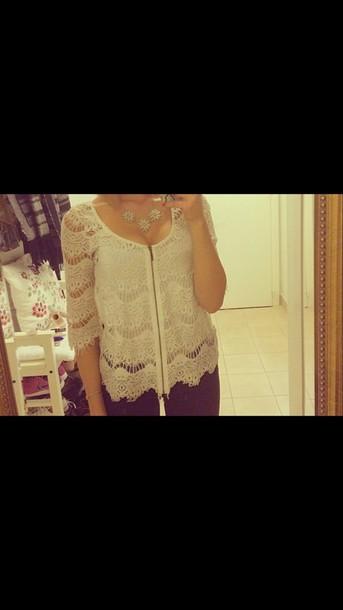 blouse fashion white top