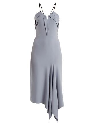 dress midi dress sleeveless midi light blue light blue