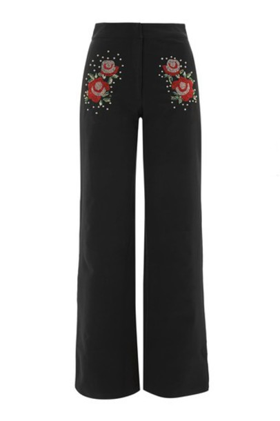 Topshop pants embellished black