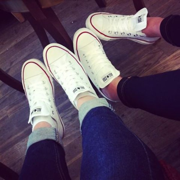 White Chuck Taylor All Star Shoes Converse Shoes