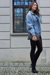 style and trouble,shoes,shorts,t-shirt,jacket,jewels