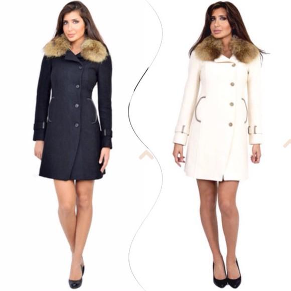 jacket coat winter jacket winter coat fur coat fur jacket fashion fur style elegant