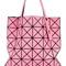 Bao bao issey miyake prism tote bag, women's, pink/purple, polyester/polyurethane/nylon/brass