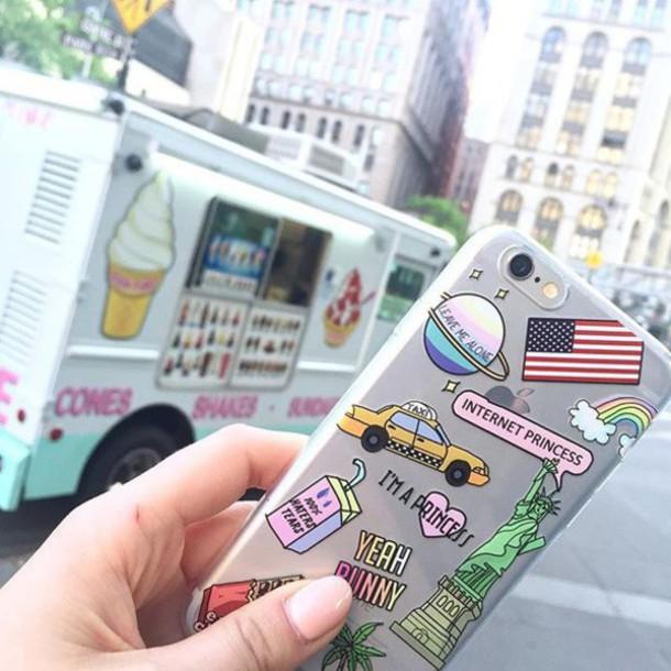 new styles d4a0b f6f6b iPhone Case - USA