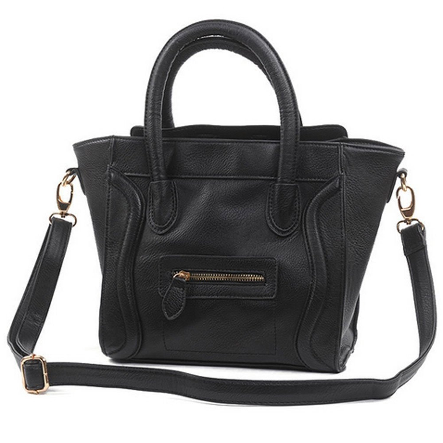 Garcia Ladies Faux Leather Smile Handbags/Satchel/Tote Handbags ...