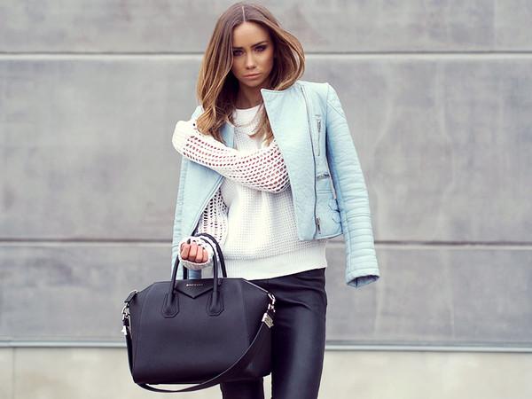 lisa olsson sweater jacket pants shoes bag