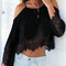 Lace boho sleeved top – dream closet couture