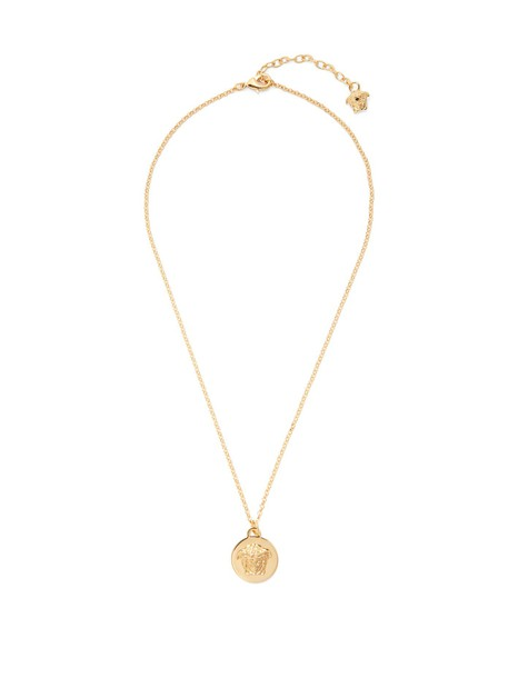 VERSACE necklace pendant gold jewels
