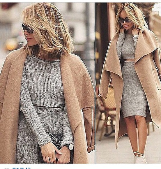 two-piece sweater set