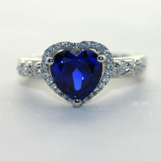 jewels evolees evolees.com shining s925 heart ring with sapphire heart shaped blue sapphire ring heart blue sapphire engagement ring blue sapphire ring heart jewelry