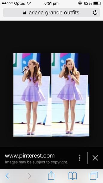 dress purple dress ariana grande dress black and white dress striped dress plain dress party dress