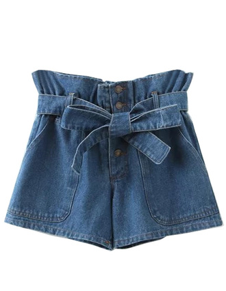 shorts brenda-shop denim jeans high waisted shorts bow summer cute