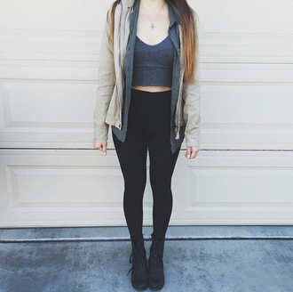 crop tops gray grey high waisted jeans skinny jeans black high waisted pants fashion inspo hipster edge boyish trendy leggings red lime sunday