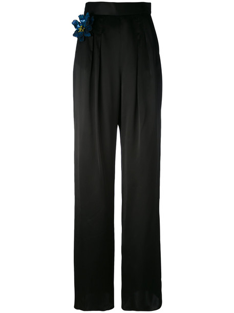 CHRISTOPHER KANE women classic black pants