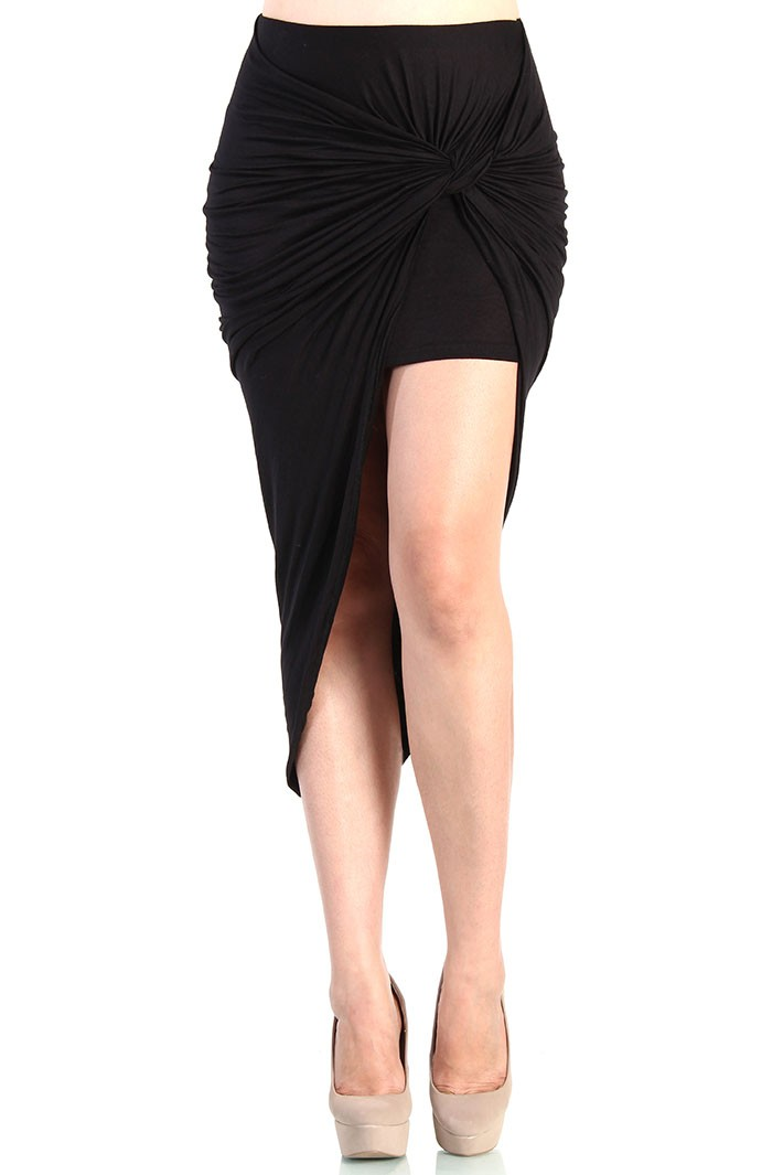 Front stretch skirt