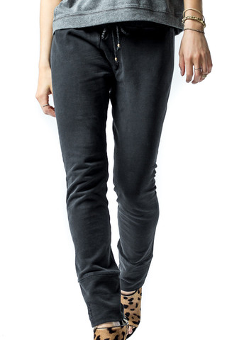 SKINNY LONG JOHNS  Faded Black by Ragdoll LA | Ragdoll LA