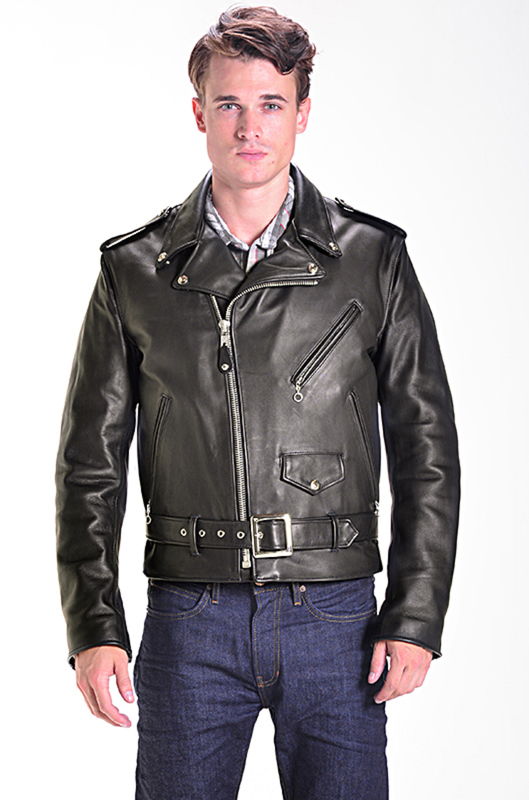 Best Motorcycle Jacket >> Classic Perfecto Leather Motorcycle Jacket 118