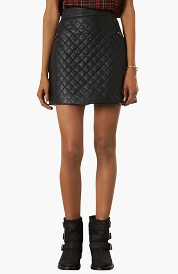 Quilted A-Line Skirt   Nordstrom