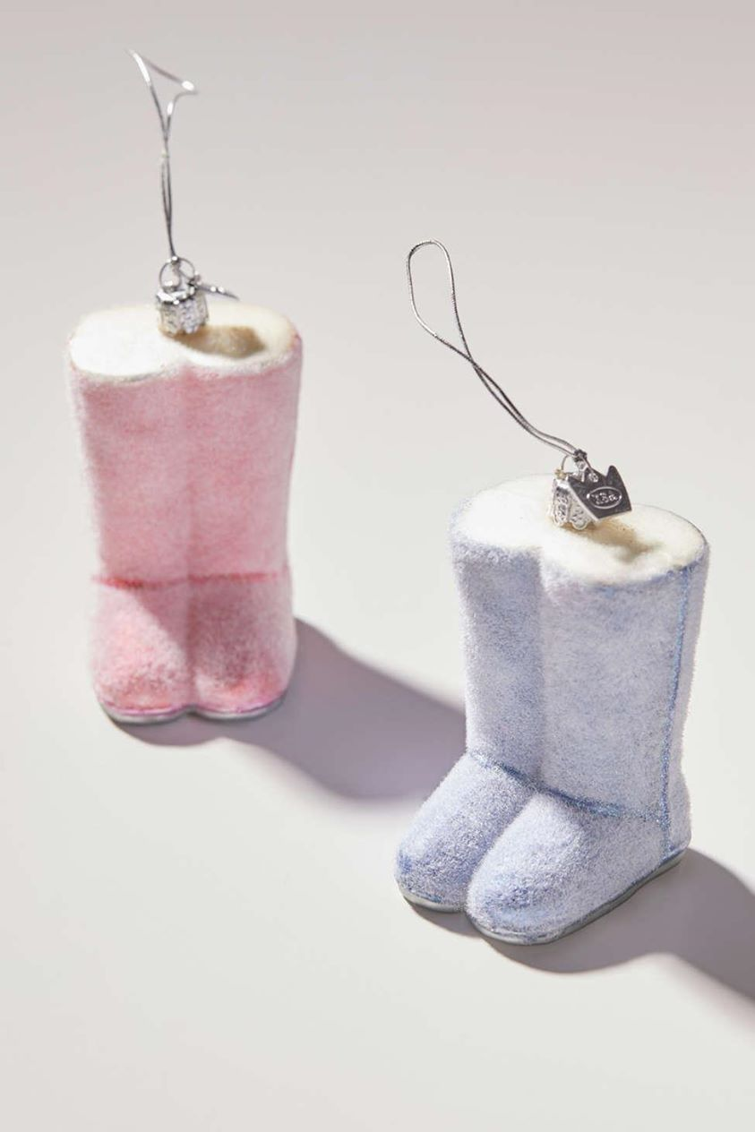 Cozy Boot Christmas Ornament