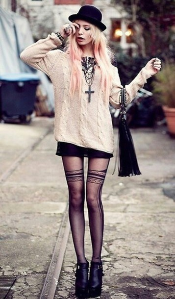 top hippie tights