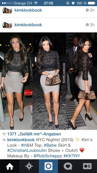 skirt grey beautiful kim kardashian curvy sexy short fashion shopaholic