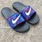 Nike custom galaxy slides