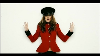 jacket love cheryl cole baseball jacket red coat red jacket
