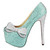 HERSTAR™ Tiffany Blue Bow Crystal Pumps