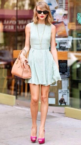 dress summer dress taylor swift replica nude bag