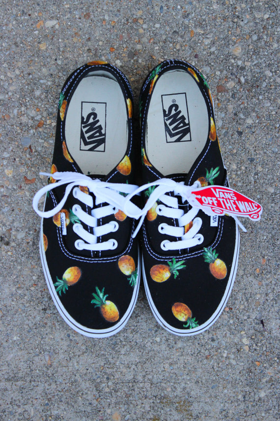 Pineapple VANS (fruit of your choice) on Wanelo