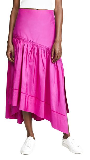 3.1 Phillip Lim Shirred Skirt