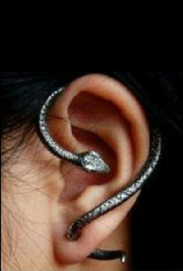 jewels snake earrings