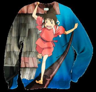 sweater undefined spirited away spirited away shirt graphic tee gaonasi monster