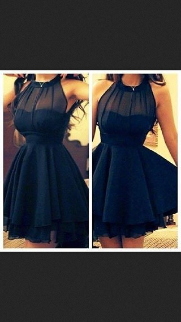 dress little black dress black black skater dress
