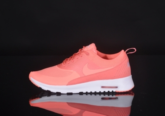 shoes nike nike air max thea pink peach nike air max thea i'm looking for this nike air max thea atomic pink nike running shoes pastel sneakers pink nike theas nike shoes nike theas nike shoes womens roshe runs coral sneakers nike air max neon pink