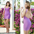 Bqueen Purple Sexy Strap Halter Bandage Dress H612