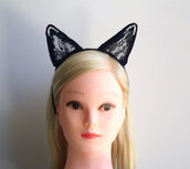 black,ears,crystal,hair accessory,festival,headwear,turban,cats,headband,sexy,accessories,bunny,grande,Accessory,women