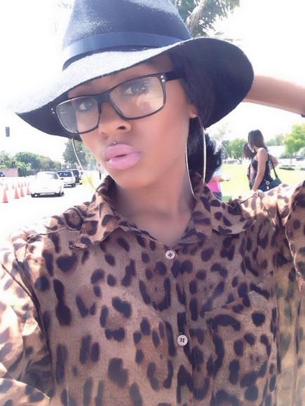 leopard print animal print blouse top cheetah is the new black