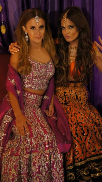 wood dress bollywood dressup party bolly native american fancydress lucywatson madeinchelsea