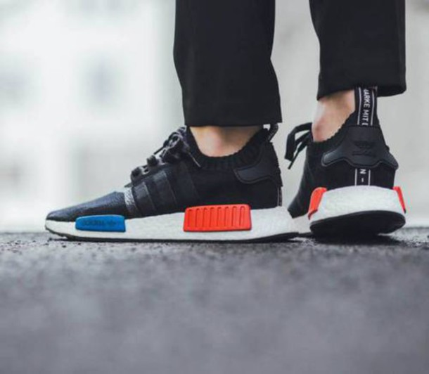 yhipwj adidas nmd black red blue Improve your outlook