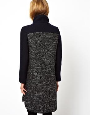 ASOS | ASOS - Cardigan style manteau en tissu mélangé chez ASOS